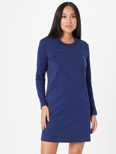 Love Moschino Kleid in blau, Modelansicht