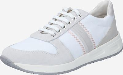 GEOX Zemie brīvā laika apavi bēšs / balts, Preces skats