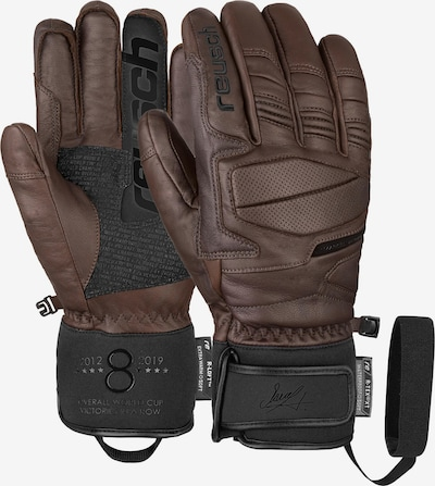 REUSCH Fingerhandschuhe 'Marcel Hirscher R-TEX® XT' in dunkelbraun, Produktansicht