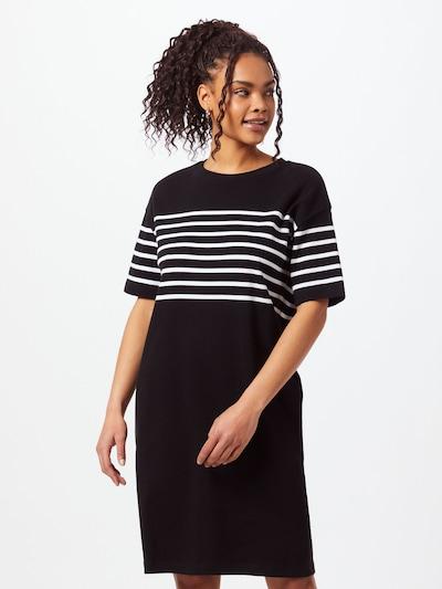ARMEDANGELS Kleid ' Talekaa Placed Stripe ' in schwarz, Modelansicht