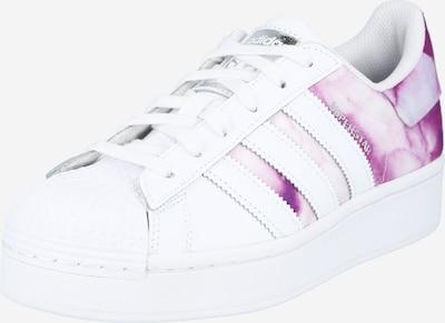 lila / fehér ADIDAS ORIGINALS Rövid szárú edzőcipők 'SUPERSTAR BOLD', Termék nézet