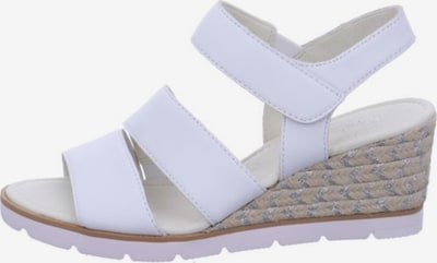 GABOR Sandalen/Sandaletten in weiß, Produktansicht