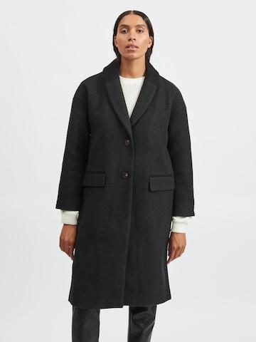 VILA Mantel in Schwarz