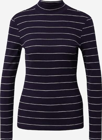 s.Oliver Shirt in dunkelblau / weiß, Produktansicht