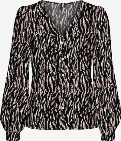 Camicia da donna VERO MODA di colore rosa antico / nero / bianco, Visualizzazione prodotti