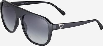Ochelari de soare GUESS pe negru / argintiu, Vizualizare produs