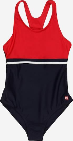 SCHIESSER Jednodielne plavky - námornícka modrá / červená / biela, Produkt