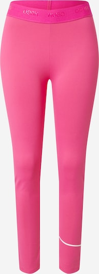 HUGO Leggings 'Nicago' in Pink / White, Item view