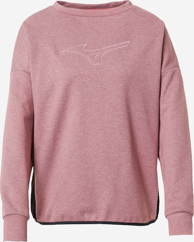 MIZUNO Sports sweatshirt in Pink / Black, Item view