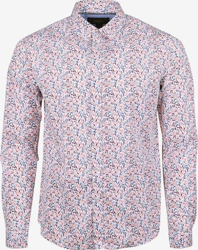 Le Temps Des Cerises Langarmhemd 'BAXEL' in hellblau / rosa / weiß, Produktansicht