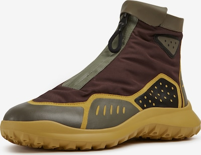 CAMPER Sneaker 'CRCLR' in braun / senf / grün, Produktansicht