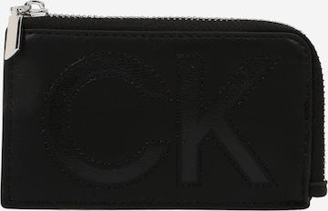 Calvin Klein Rahakott, värv must