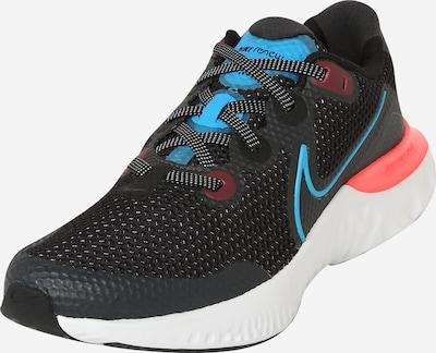 NIKE Sportske cipele 'Renew Run' u svijetloplava / tamo siva / ljubičasto crvena / svijetloroza / crna, Pregled proizvoda