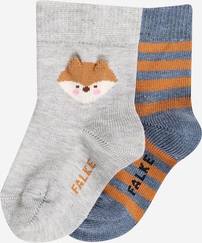FALKE Ponožky - modrosivá / koňaková / sivá melírovaná / biela, Produkt