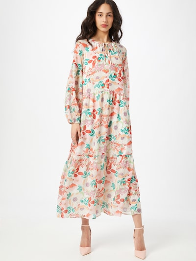 ESPRIT Dress in Mixed colours / Off white, View model