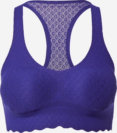 SLOGGI Soutien-gorge 'Zero Feel' en bleu roi, Vue avec produit
