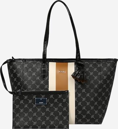 JOOP! Shopper en cognac / gris claro / negro / blanco natural, Vista del producto