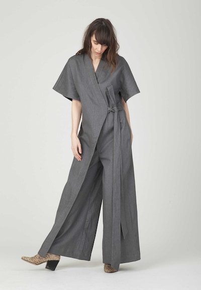 MONOSUIT Jumpsuit in Grey: Frontal view