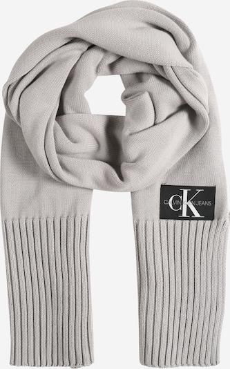 Calvin Klein Jeans Schal in grau / schwarz, Produktansicht