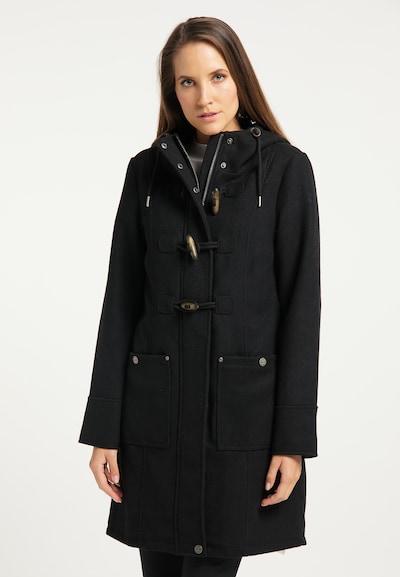 DreiMaster Klassik Zimný kabát - čierna, Model/-ka