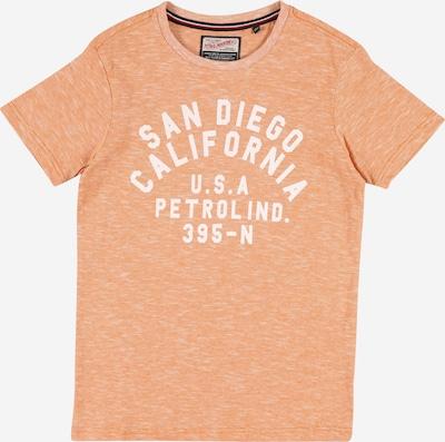 Petrol Industries T-Shirt in apricot / weiß, Produktansicht