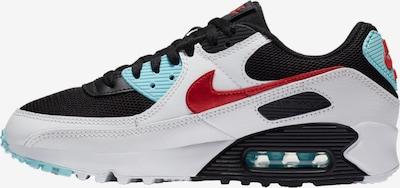 Nike Sportswear Sneaker in hellblau / rot / schwarz / weiß, Produktansicht