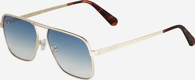 Ochelari de soare GUESS pe albastru cer / maro ruginiu / auriu, Vizualizare produs
