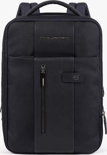Piquadro Backpack 'Brief' Leder' in Black, Item view