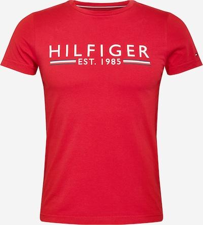 Marškinėliai iš TOMMY HILFIGER , spalva - tamsiai mėlyna jūros spalva / granatų spalva / balta: Vaizdas iš priekio