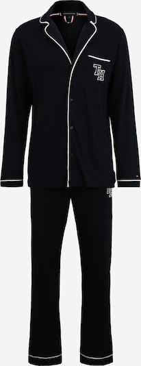 Ilga pižama iš Tommy Hilfiger Underwear , spalva - nakties mėlyna / balta, Prekių apžvalga
