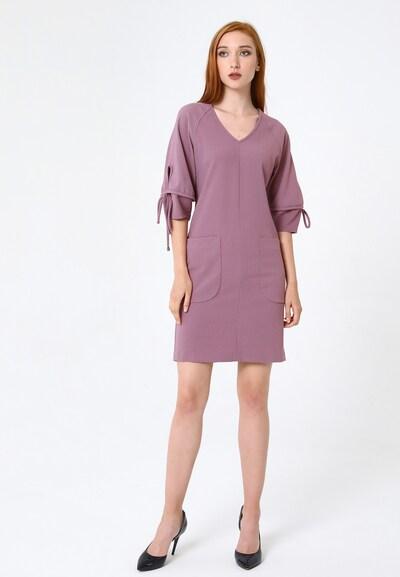 Madam-T Kleid 'Anhelita' in pink, Modelansicht