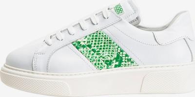 INUOVO Sneaker in grün / weiß, Produktansicht