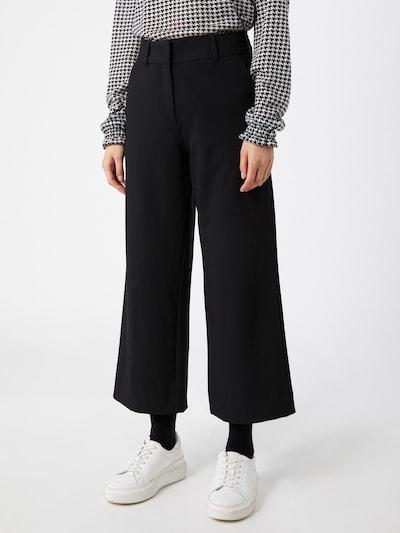FIVEUNITS Hose 'Dena Crop 285' in schwarz, Modelansicht