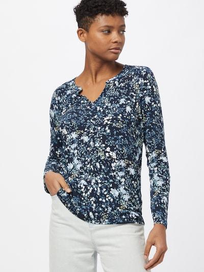 Bluză TOM TAILOR pe albastru porumbel / albastru deschis / alb, Vizualizare model