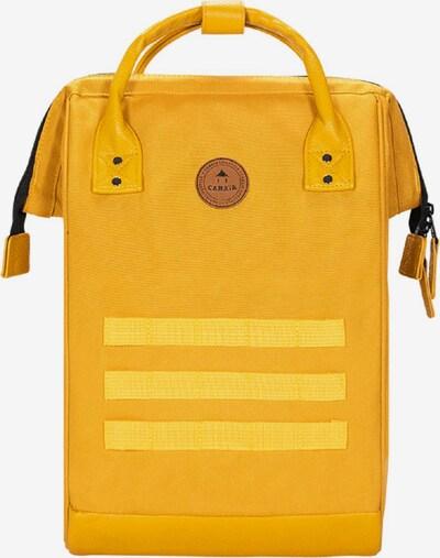 Cabaia Rucksack in marine / gelb / safran / grenadine, Produktansicht