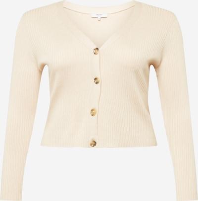ABOUT YOU Curvy Strickjacke 'Cassidy' in beige, Produktansicht