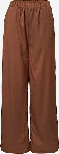 In The Style Pantalon en marron, Vue avec produit