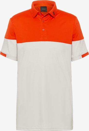 PEAK PERFORMANCE Poloshirt 'Player' in rot / weiß, Produktansicht