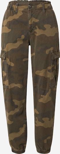 American Eagle Hose in dunkelbraun / khaki, Produktansicht