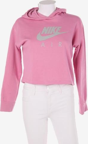 NIKE Sweatshirt & Zip-Up Hoodie in XL in Pink