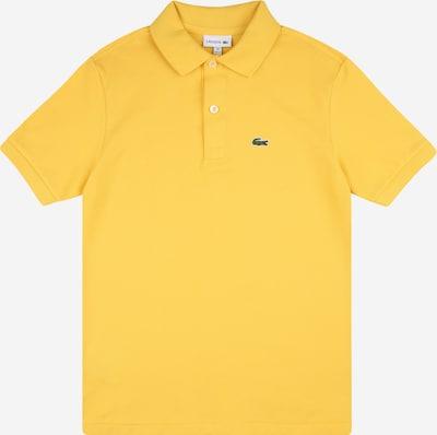 LACOSTE T-Shirt en jaune / vert / blanc, Vue avec produit