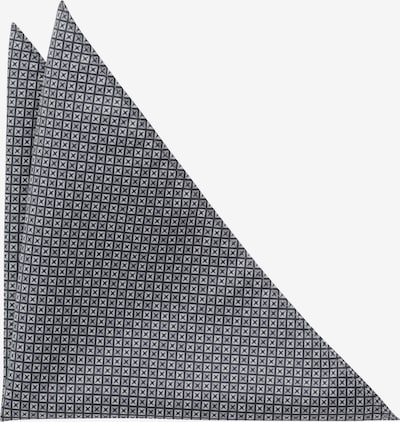 ETERNA Einstecktuch in grau / schwarz, Produktansicht