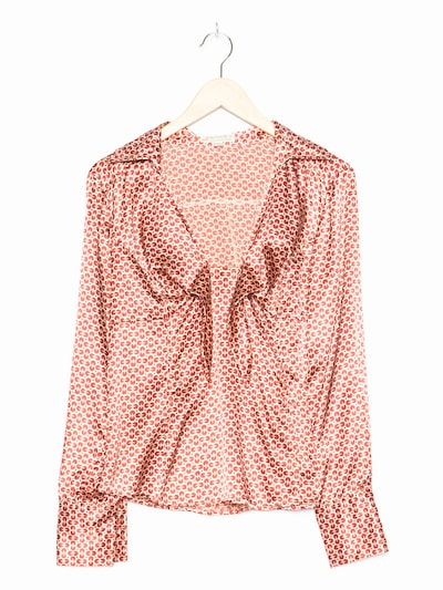 Authentic Style Bluse in L in blutrot, Produktansicht