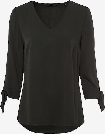 zero Bluse in dunkelgrün, Produktansicht