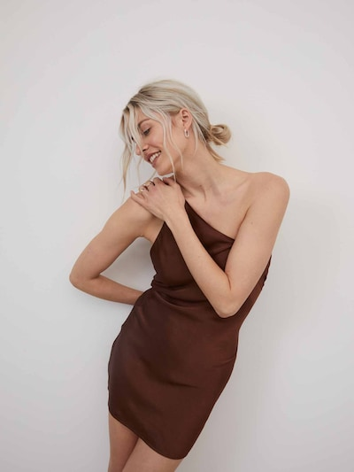 LeGer by Lena Gercke Haljina 'Maggie' u smeđa, Prikaz modela