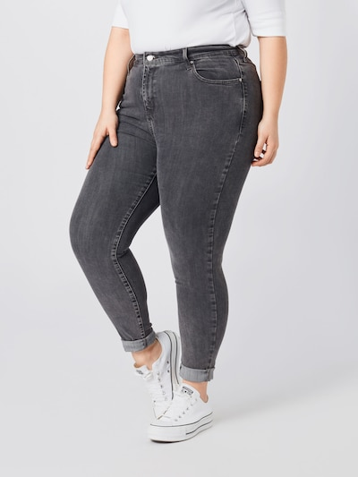 Levi's® Plus Jeans in de kleur Grey denim, Modelweergave