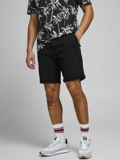 JACK & JONES Chino in de kleur Zwart, Modelweergave