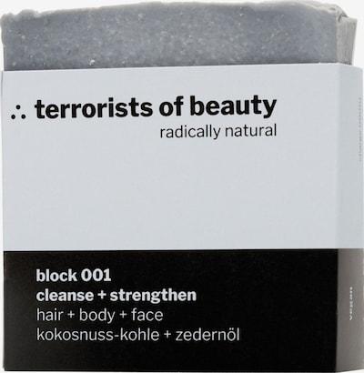 Terrorists of Beauty Seife 'Block' in grau, Produktansicht