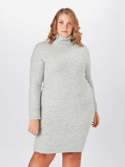Vero Moda Curve Pletena haljina u siva, Prikaz modela