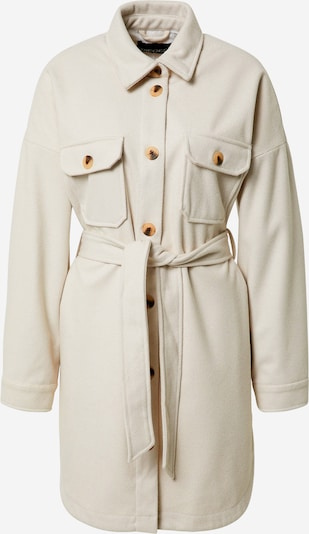 PIECES Mantel in weißmeliert, Produktansicht